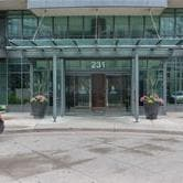 picture of the front of 231 fort york boulevard.